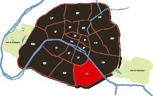 parijsmijnstad - Het 13e arrondissement van Parijs