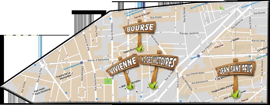 parijsmijnstad - Bezienswaardigheden 2e arrondissement van Parijs