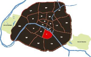 parijsmijnstad - het 5e arrondissement van Parijs