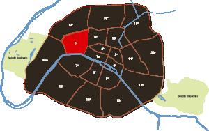 parijsmijnstad - 8e arrondissement van Parijs