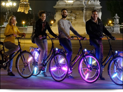 BajaBikes fietsen in Parijs