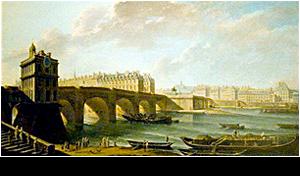 parijsmijnstad - middeleeuws Pont Neuf Parijs