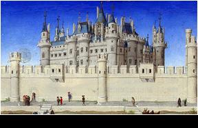 parijsmijnstad - middeleeuws Palais Cité Parijs