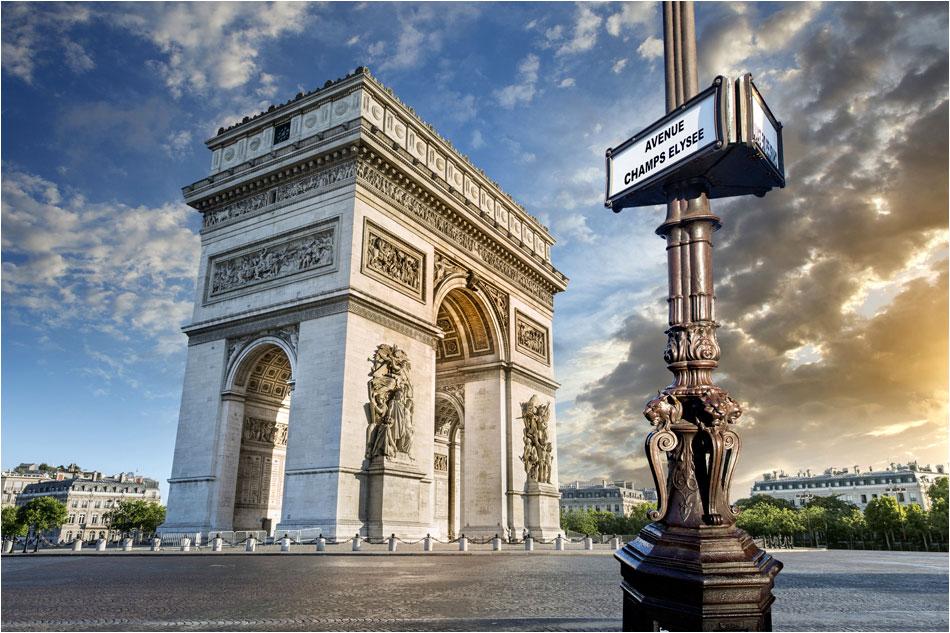 Arc de Triompe Parijs