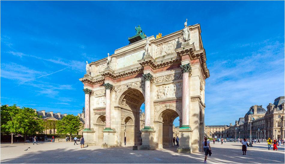 Arc du Carrousel Parijs