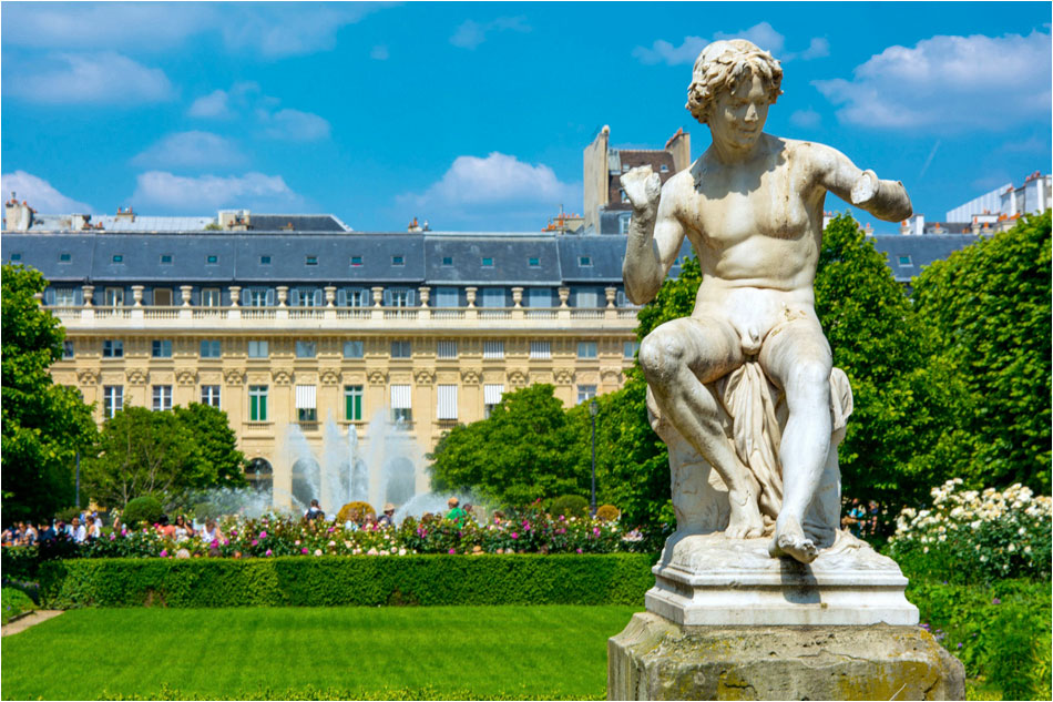 Jardin Palais Royale Parijs