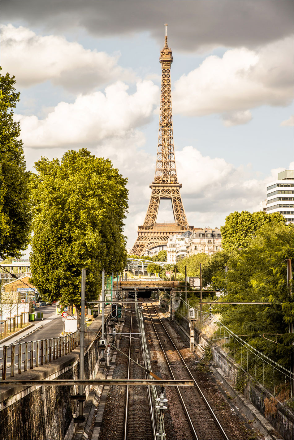 Metro Javel - Tour Eiffel Parijs