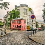 Maison Rose Montmartre Parijs