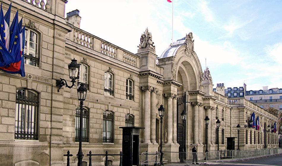 Palais l'Elysée Parijs