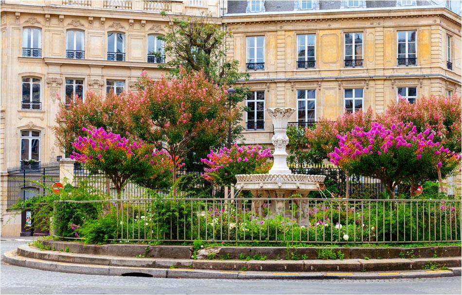 Place Francois 1er parijs