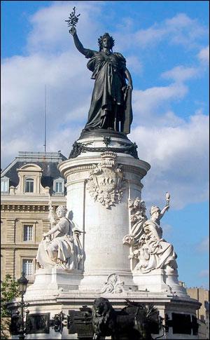 parijsmijnstad - Place de la République