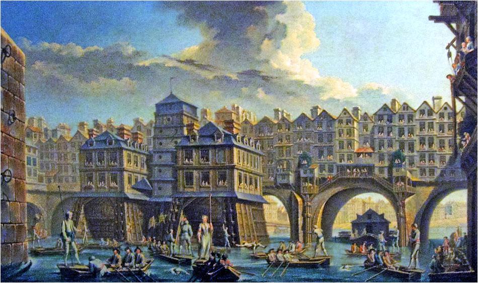 Pont de Notre Dame - 1756 - Parijs