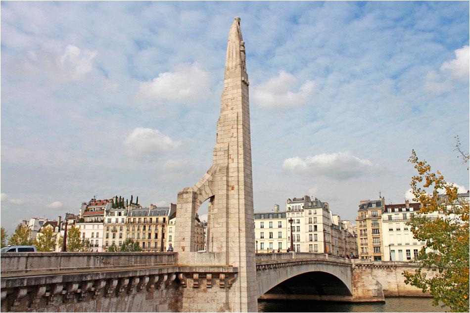 Pont de la Tournelle Parijs