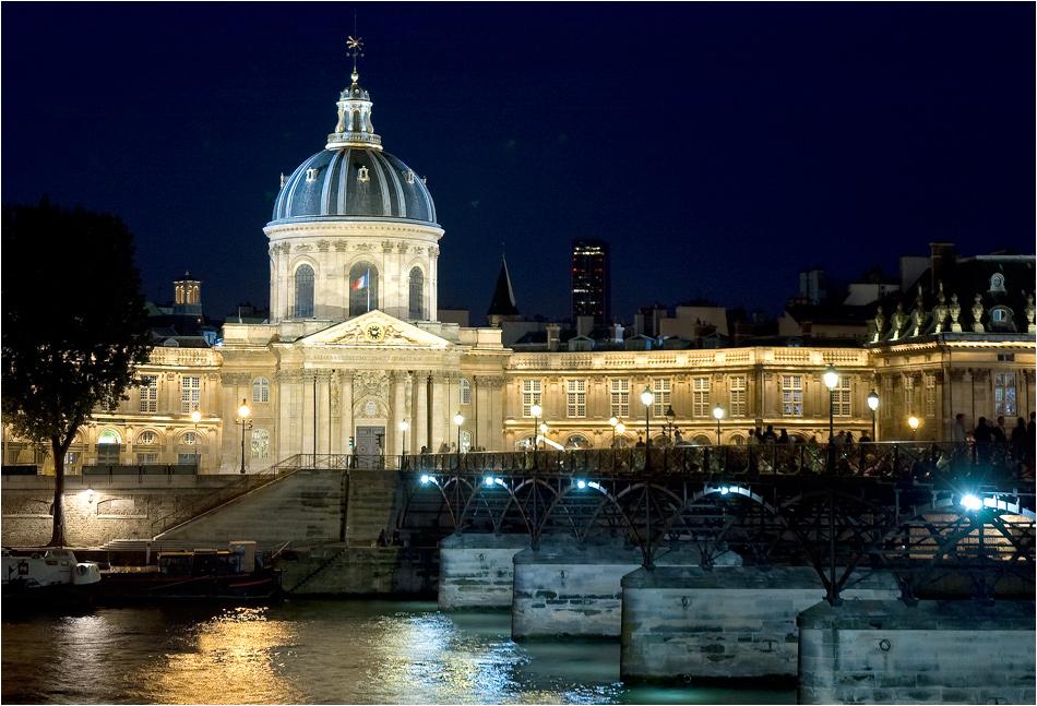 Pont des Arts - Institut de France - Parijs