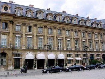 parijsmijnstad - Hotel Ritz