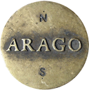 parijsmijnstad - Arago - Jan Dibbets