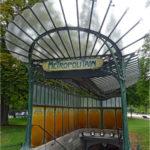 Metro Port Dauphine Parijs