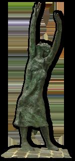 parijsmijnstad - standbeeld Edith Piaf Parijs