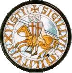 parijsmijnstad - zegel van de Tempeliers
