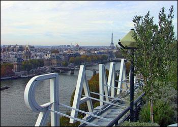 parijsmijnstad - uitzicht dakterras Samaritaine
