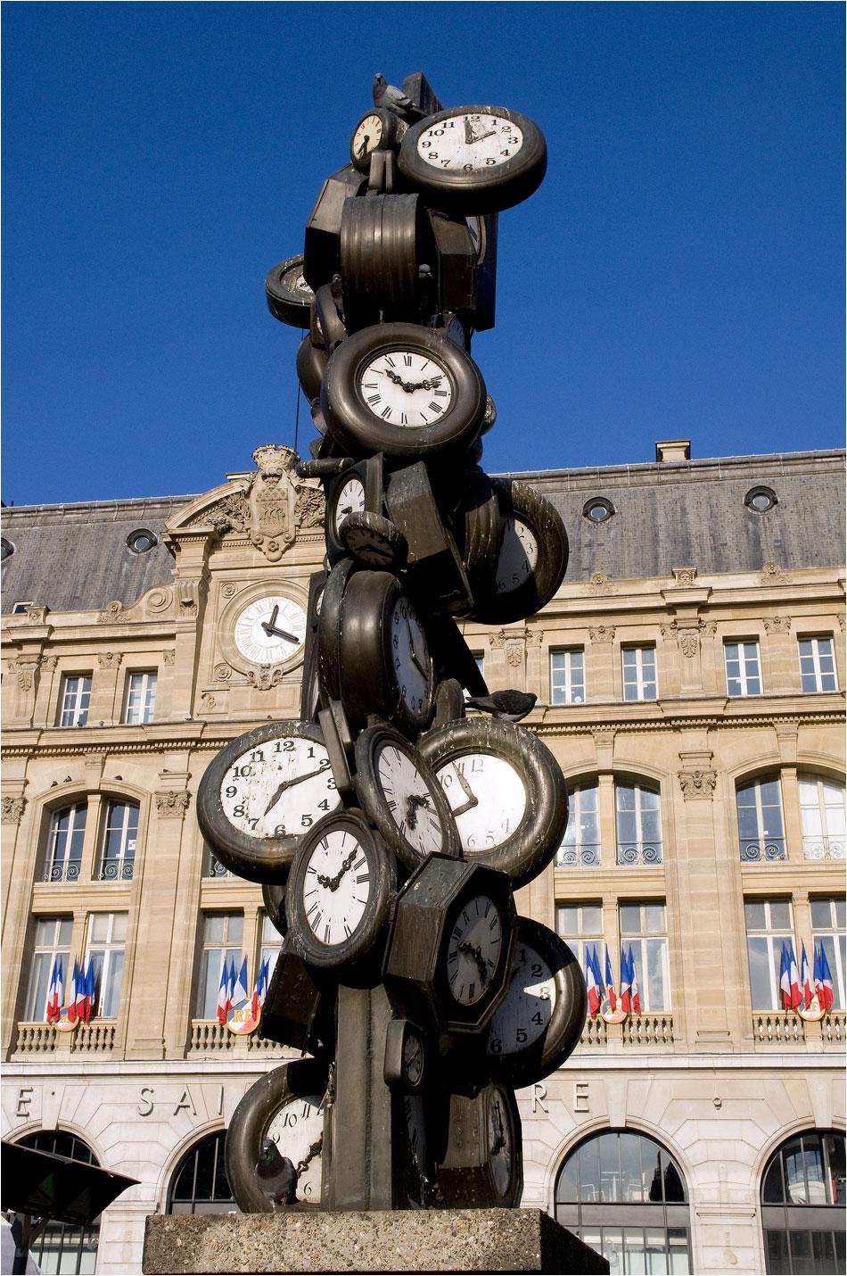 Gare St.-Lazare Parijs
