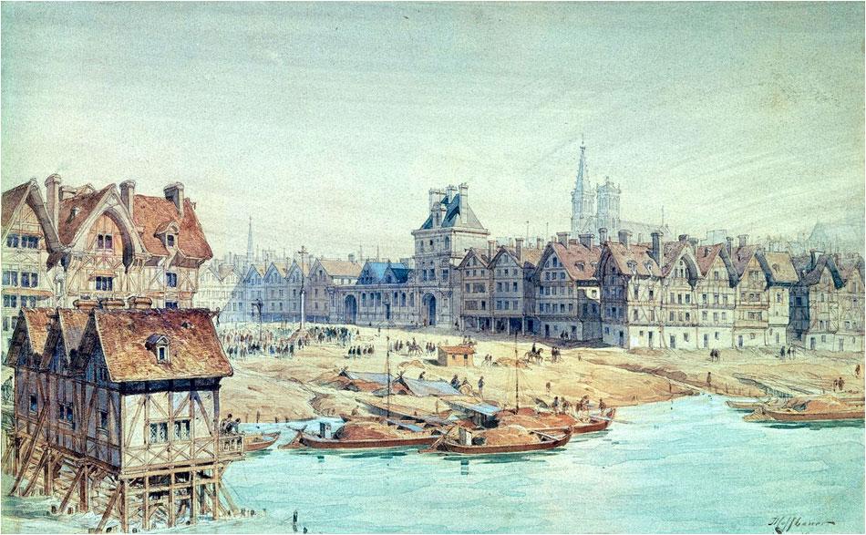 Place de Greve Parijs