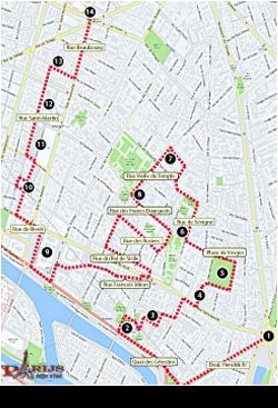 parijsmijnstad - wandelen in Parijs