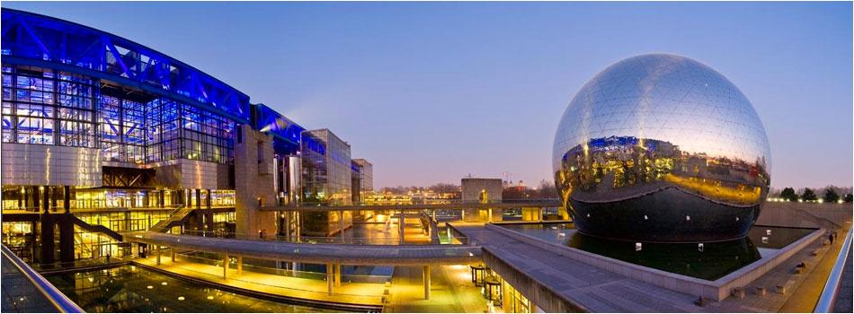 Villette Geode Parijs
