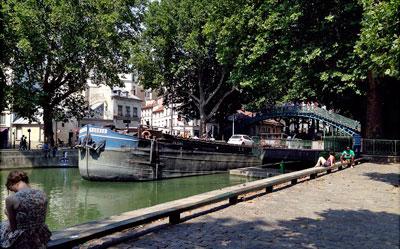 parijsmijnstad - Canal St.-Martin Parijs