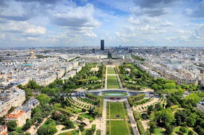 parijsmijnstad - Champ du Mars Parijs