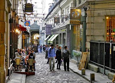 parijsmijnstad - Cour de Commerce St.-André