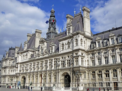 parijsmijnstad - Hôtel de Ville Parijs