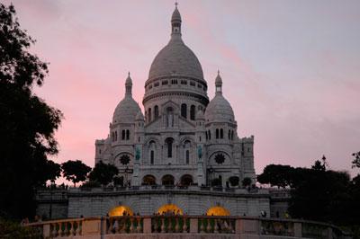 parijsmijnstad - Sacre Coeur Parijs