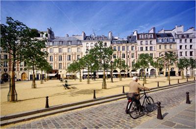 parijsmijnstad - Place Dauphine Parijs