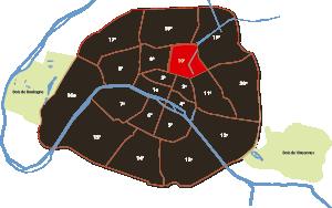 parijsmijnstad - 10e arrondissement van Parijs