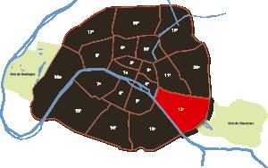 parijsmijnstad - 12e arrondissement van Parijs