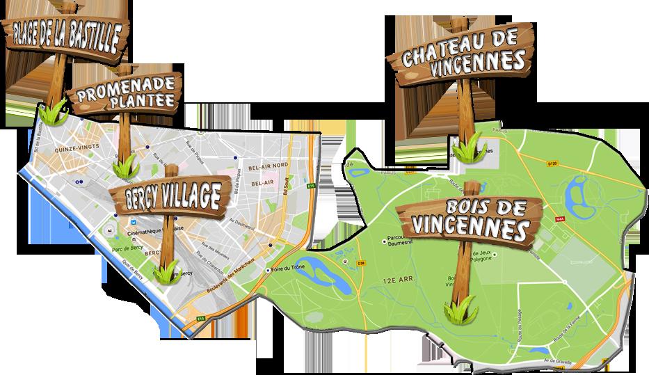 parijsmijnstad - Bezienswaardigheden 12e arrondissement van Parijs