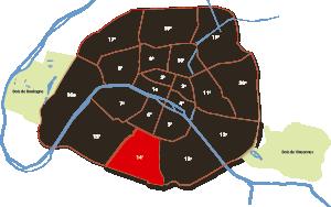 parijsmijnstad - 14e arrondissement van Parijs