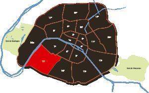 15e arrondissement Parijs