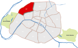 17e arrondissement Parijs