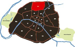 18e arrondissement Parijs