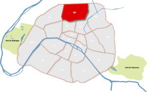 parijsmijnstad - 18e arrondissement van Parijs