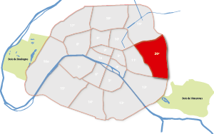20e arrondissement Parijs