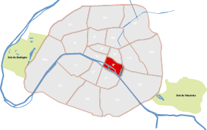 4e arrondissement Parijs