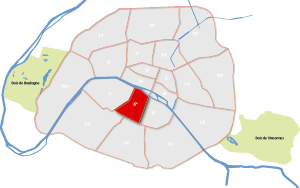 6e arrondissement Parijs