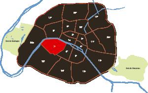 parijsmijnstad - 7e arrondissement van Parijs