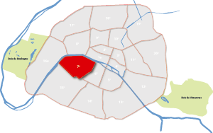 7e arrondissement Parijs