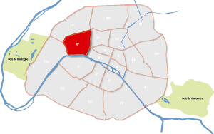 8e arrondissement Parijs