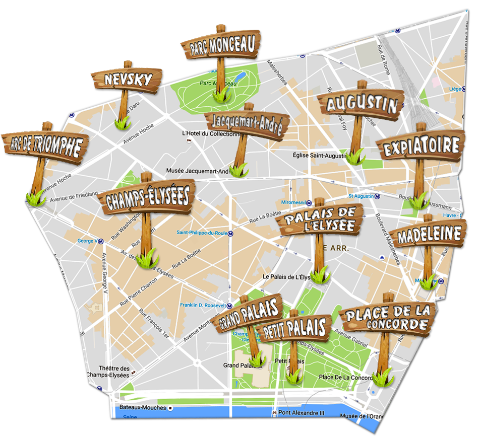 parijsmijnstad-8e arrondissement Parijs