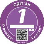 parijsmijnstad - Crit'Air Vignet Parijs
